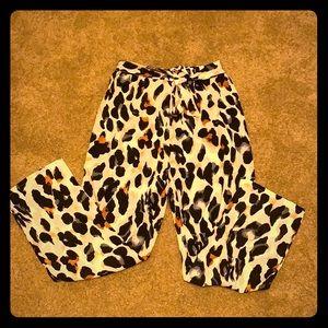 Leopard Print Lounge Pants